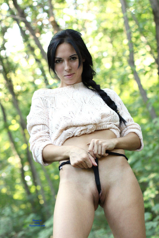 Pic #2 Alexa - Big Tits, Brunette, Outdoors, Firm Ass