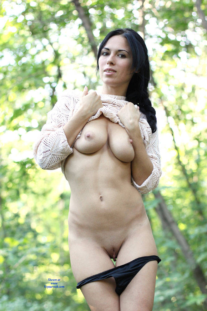 Pic #5 Alexa - Big Tits, Brunette, Outdoors, Firm Ass