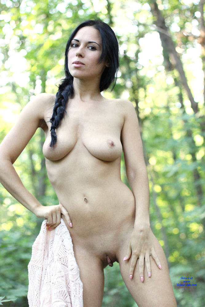 Pic #9 Alexa - Big Tits, Brunette, Outdoors, Firm Ass