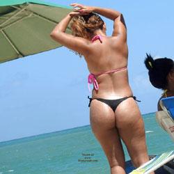 String bikini swimwear for men
