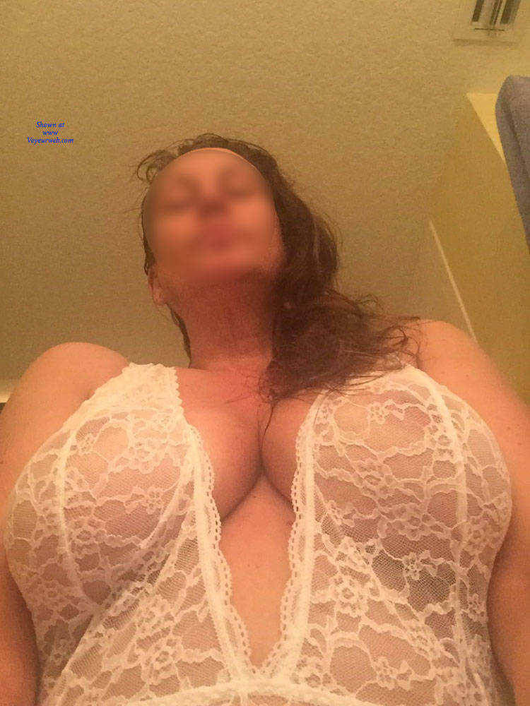 Pic #4 Xmas Gift  - Big Tits, Brunette, Lingerie, See Through