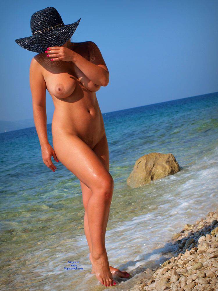 Pic #1 Butt Plug Fun  - Beach, Outdoors, Firm Ass