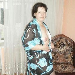 I'm Naked, Fuck Me - Brunette, Lingerie, Medium Tits
