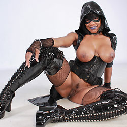 Sexy Cosplayer Showing Pussy - Artistic Nude, Big Tits, Brunette Hair, Hairy Bush, Shaved Pussy, Ebony, Toys, Costume