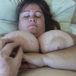 Just Being Me - BBW, Big Tits, Brunette