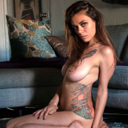 Like What You See? - Amateur, Brunette, Big Tits, Tattoos