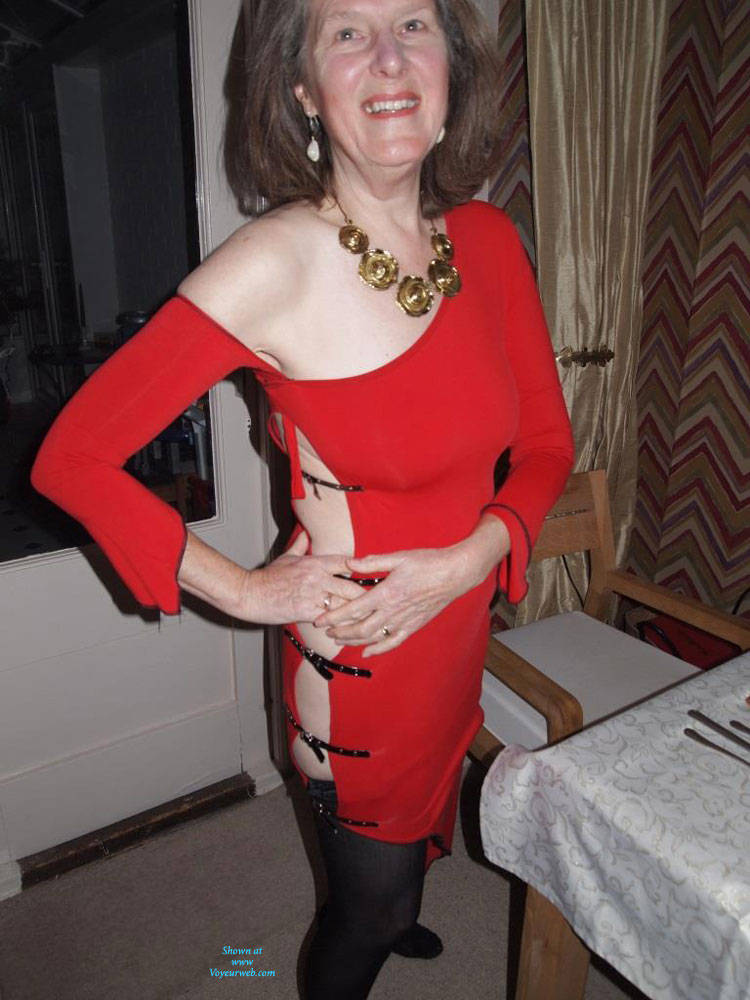 Pic #3 Christmas Eve  - Big Tits, Brunette, Shaved