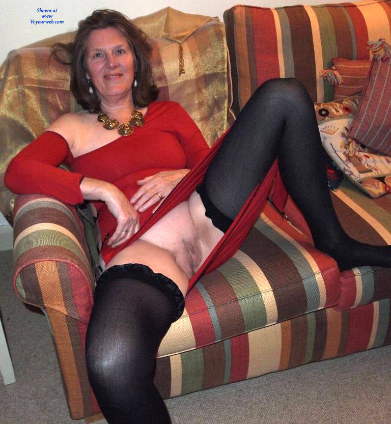 Pic #10 Christmas Eve  - Big Tits, Brunette, Shaved