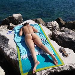 Nudist Beach - Beach, Outdoors, Firm Ass, GF