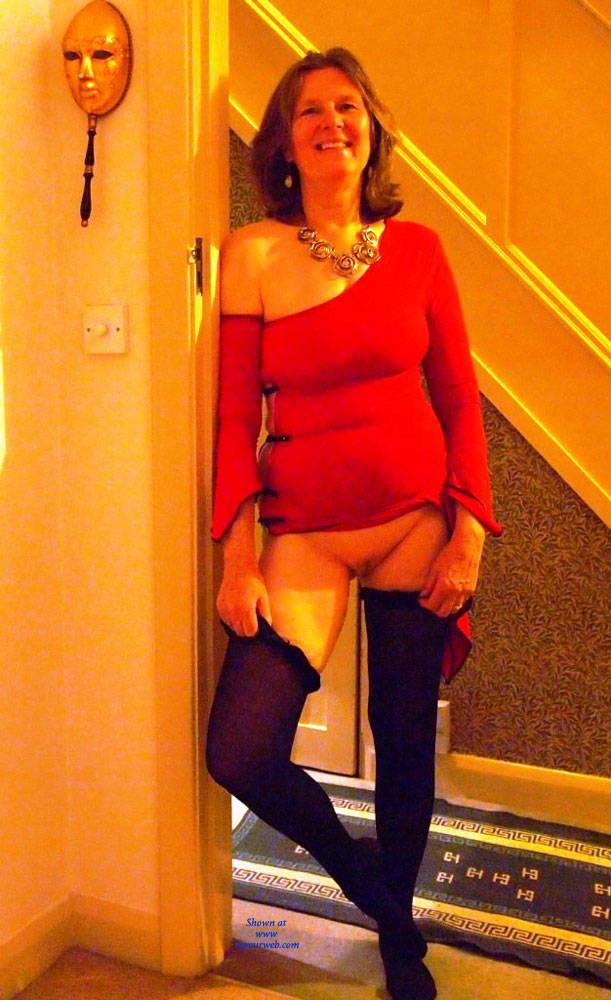 Pic #1 Christmas Eve Together - Mature, Brunette, Big Tits, Shaved