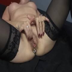 Masturbation - Toys, Masturbation, Lingerie, Big Tits, Hard Nipples