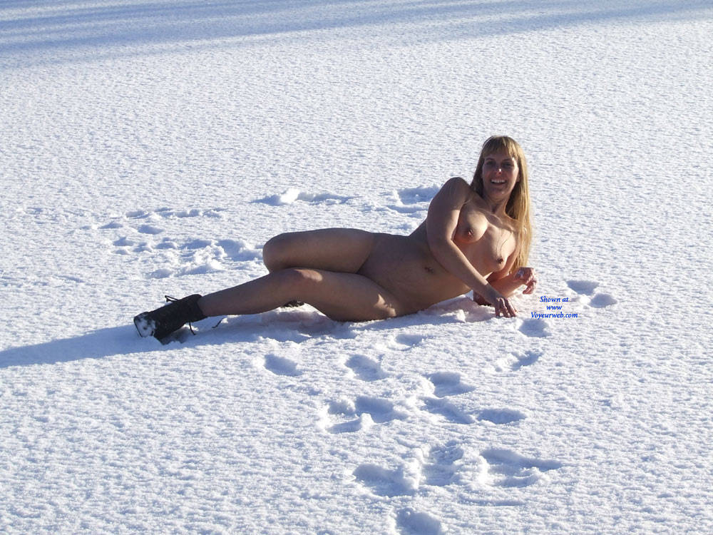 Pic #7 Snow On The Course - Outdoors, Nature, Medium Tits
