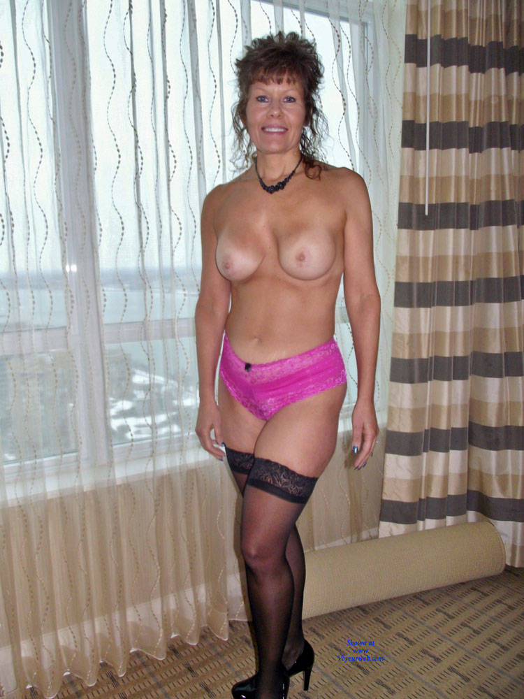 Pic #10 My Hot Wife - Redhead, Lingerie, Big Tits, Wife/wives