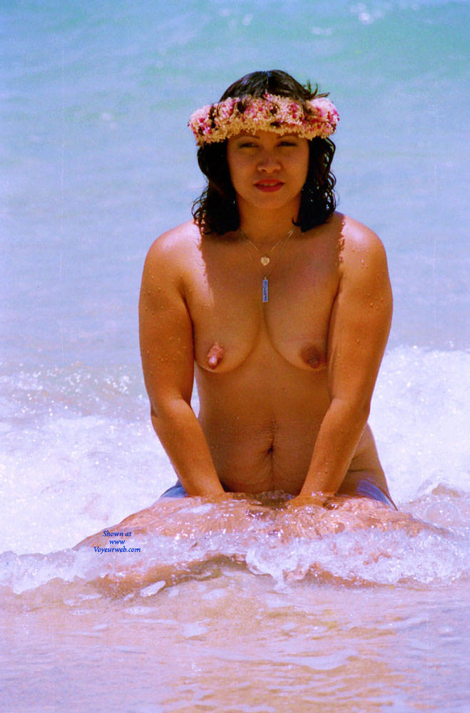 Pic #3 Winter In The Tropics - Beach, Brunette, Outdoors, Shaved