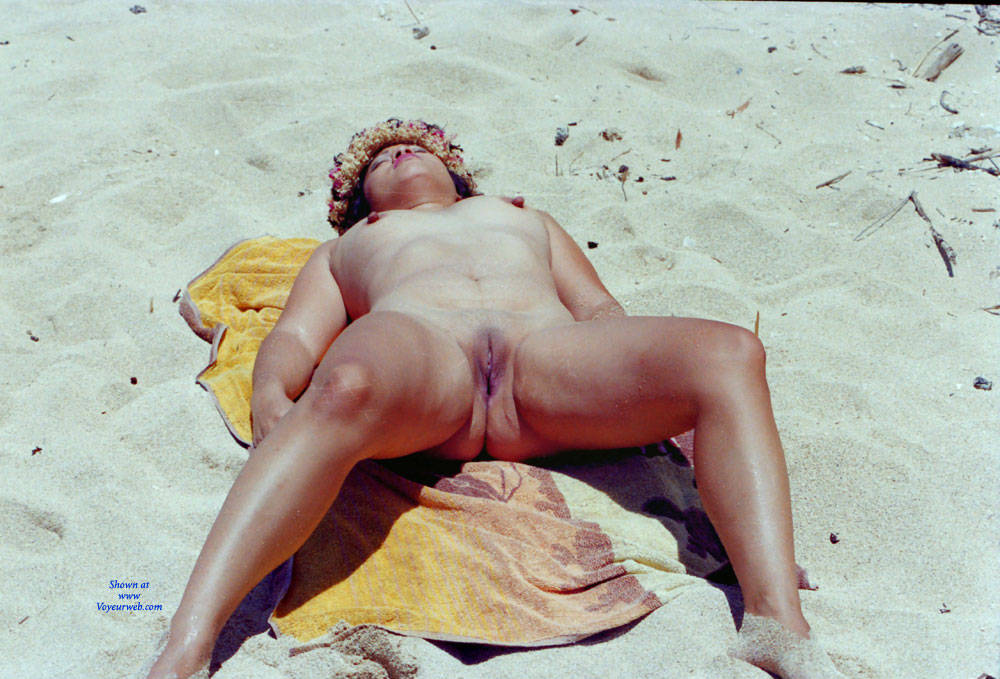 Pic #6 Winter In The Tropics - Beach, Brunette, Outdoors, Shaved