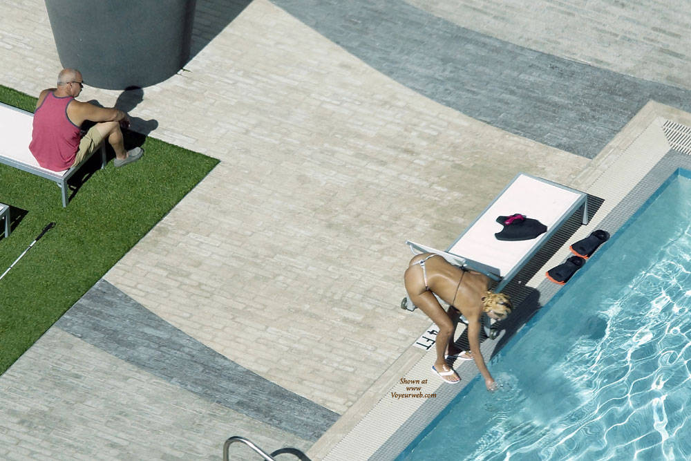 Pic #7 Sexy At The Pool 2 - Outdoors, Public Place, Bikini Voyeur