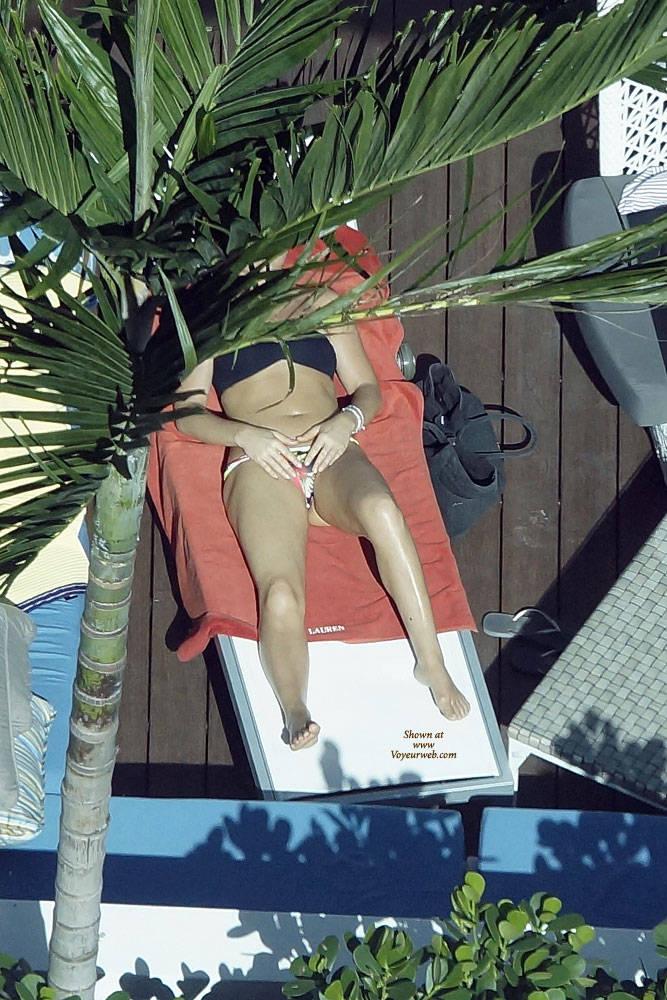Pic #2 Sexy At The Pool 3 - Outdoors, Public Place, Bikini Voyeur