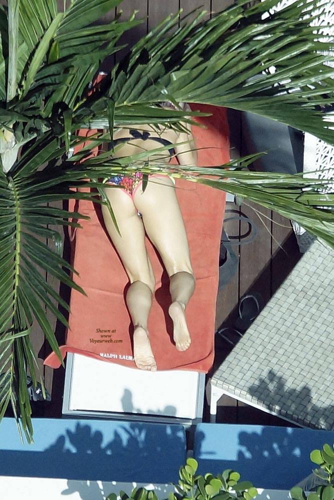 Pic #5 Sexy At The Pool 3 - Outdoors, Public Place, Bikini Voyeur