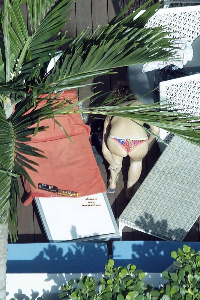 Pic #3 Sexy At The Pool 3 - Outdoors, Public Place, Bikini Voyeur