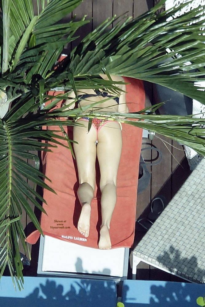 Pic #6 Sexy At The Pool 3 - Outdoors, Public Place, Bikini Voyeur