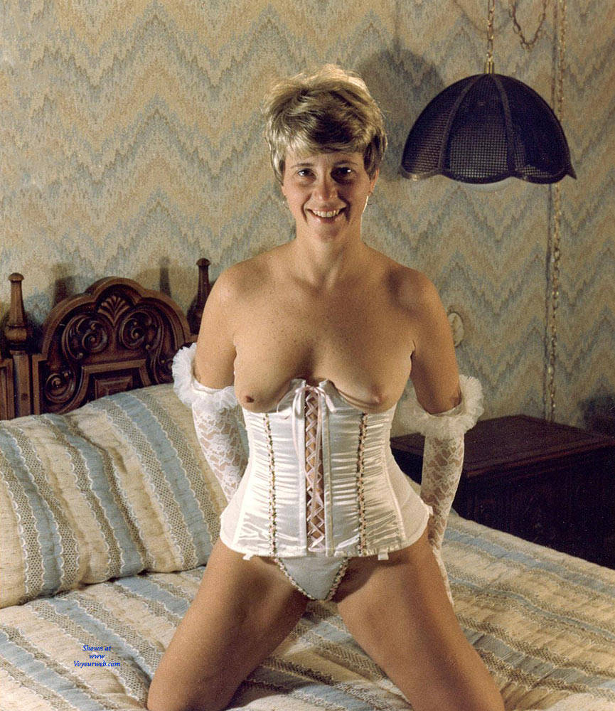 Pic #1 Debbie In Corsets And Lace - Lingerie, Big Tits, Wife/wives