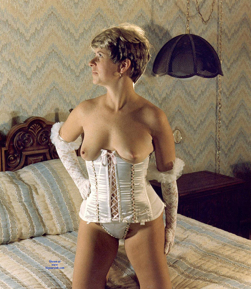 Pic #3 Debbie In Corsets And Lace - Lingerie, Big Tits, Wife/wives