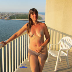 Last Part Dream Vacation! - Brunette, Outdoors, Shaved, Natural Tits