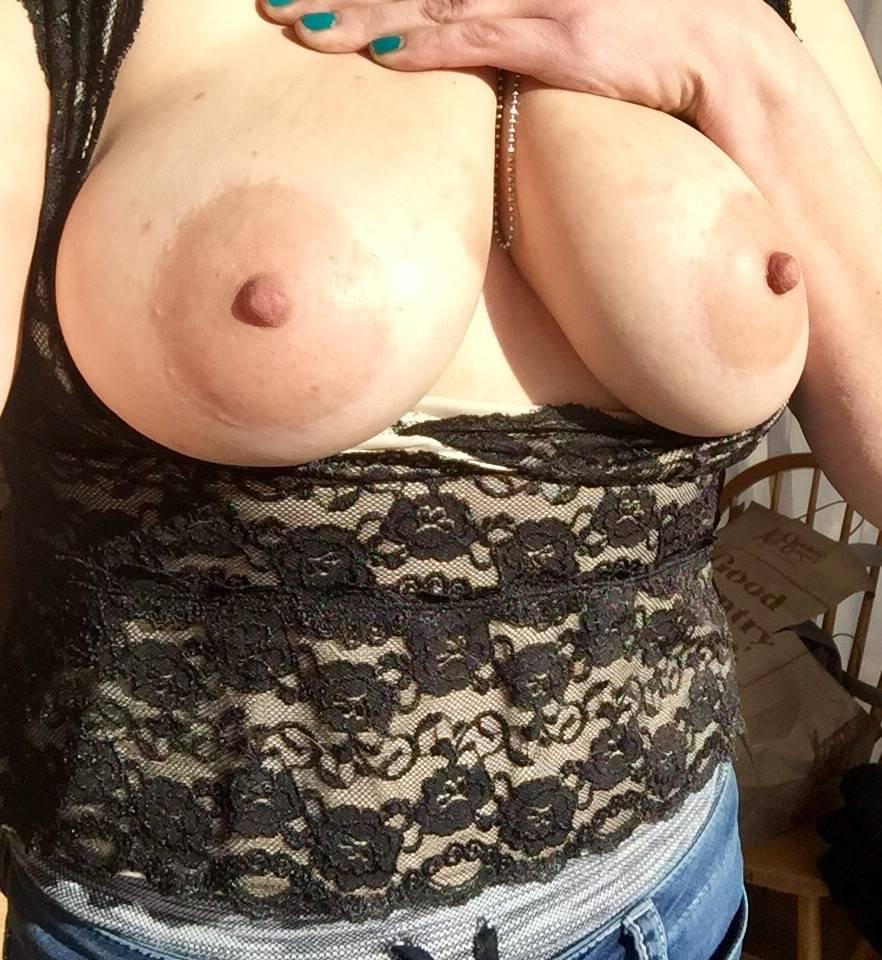 Pic #1 My large tits - Petrova
