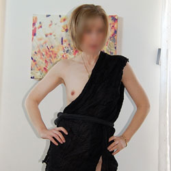 My Wife Lisa - New Years Toga - Lingerie, Wife/Wives, Bush Or Hairy, Amateur