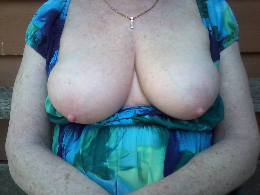 Pic #1 Large tits of my girlfriend - Juicy