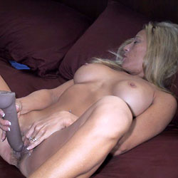 Jessie's Toy! - Big Tits, Masturbation, Toys, Bush Or Hairy, Amateur