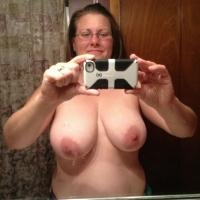 Very large tits of a neighbor - janice