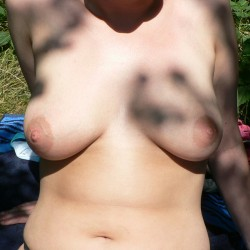 Large tits of my wife - WifeJ