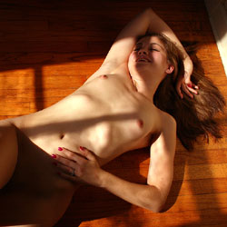 Hardwood Floor - Amateur, Natural Tits, Firm Ass