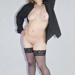 Black Stockings And Red Stilettos - Part Two - Big Tits, High Heels Amateurs, Lingerie, Wife/Wives, Shaved