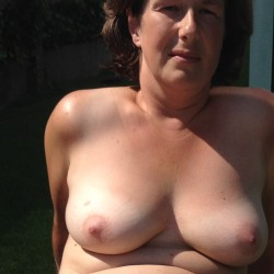 Medium tits of my wife - Caro x