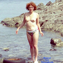 In Spiaggia - Beach, Outdoors, Redhead, Bush Or Hairy