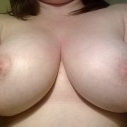 Very large tits of my wife - Kianna