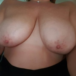 Large tits of my wife - Sex slave wife