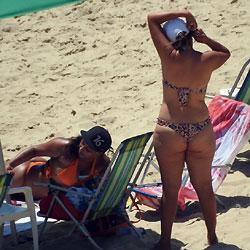 Bikini thong big brazilian asses