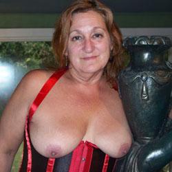 Corset - Big Tits, Lingerie, Mature, Redhead, Amateur, Topless Amateurs