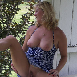 Random Stuff - Nude Girls, Big Tits, Blonde, Outdoors, Bush Or Hairy, Amateur