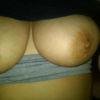 Large tits of a neighbor - purple p