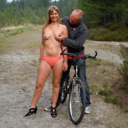 Fun In The Forest - Nude Amateurs, Blonde, Blowjob, Outdoors, Nature