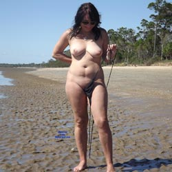 Beach Fun - Beach, Big Tits, Brunette, Outdoors
