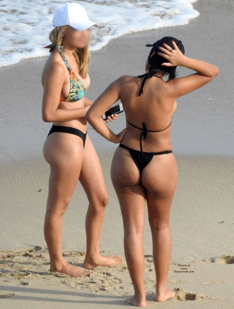 Excellent Beach voyeur bikini panties