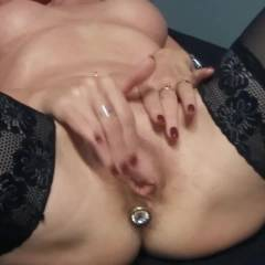 Fingering And Plugged - Nude Amateurs, Toys, Masturbation, Lingerie