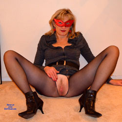 Against The Wall - High Heels Amateurs, Lingerie, Toys, Bush Or Hairy
