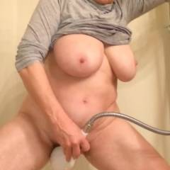 Busty Mature Wife Masturbates To Intense Orgasm - Nude Amateurs, Big Tits
