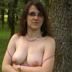 On The Road To Vacations - Big Tits, Brunette, Bush Or Hairy, Amateur, Outdoors